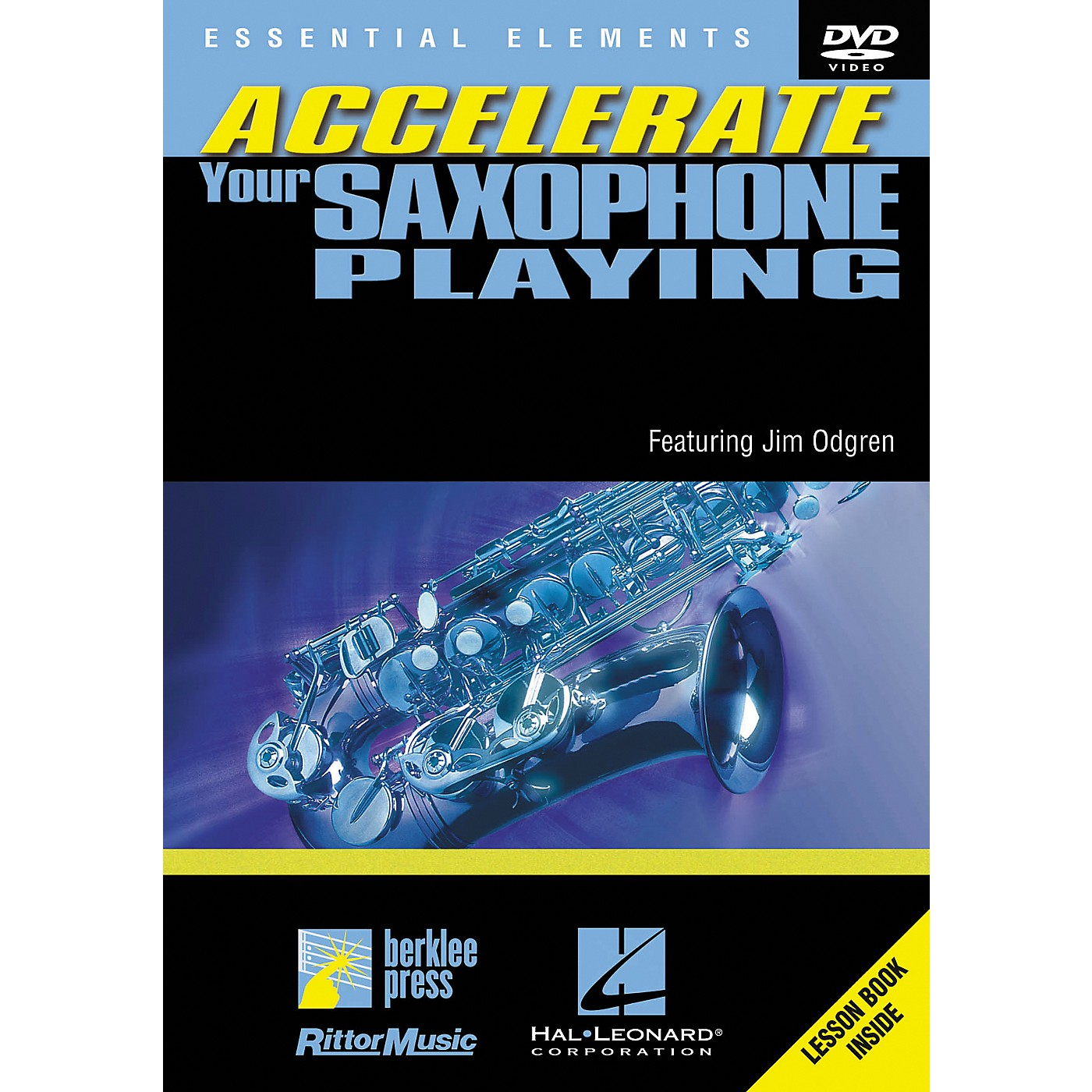 Berklee Press Accellerate Your Saxophone Playing (DVD) thumbnail