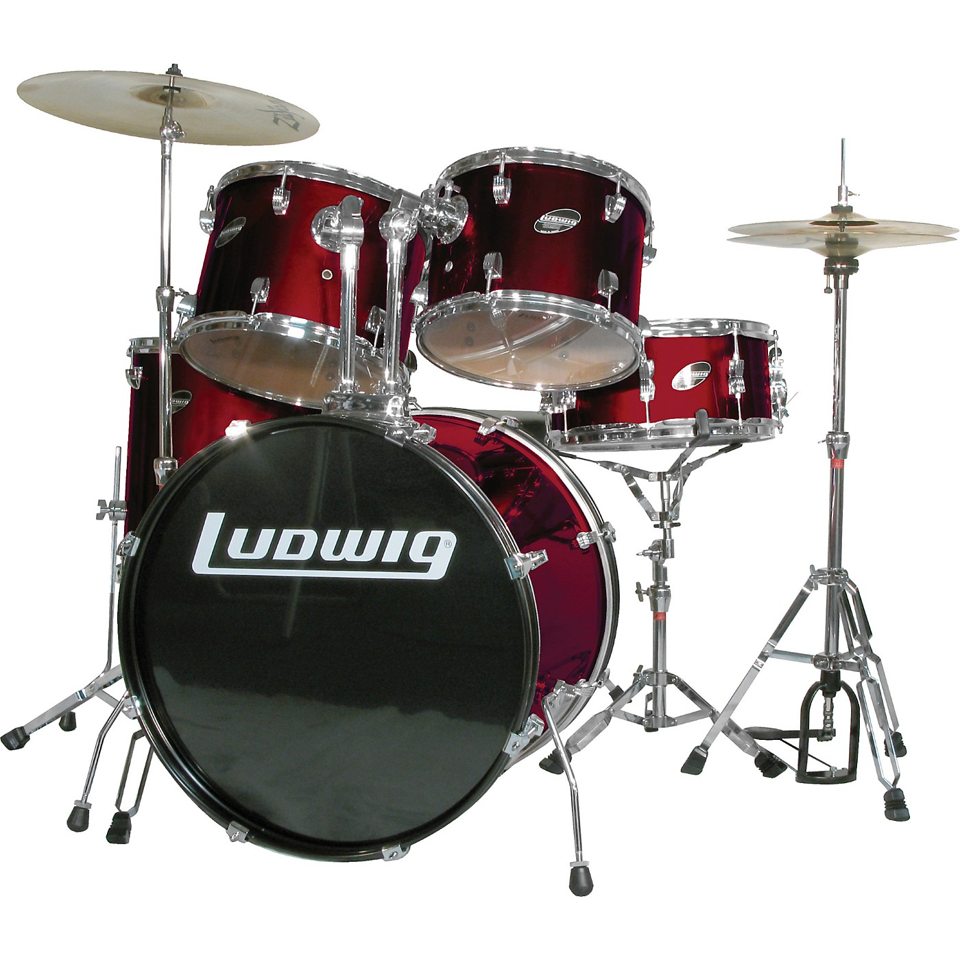Ludwig Accent Combo 5-piece Drum Set thumbnail