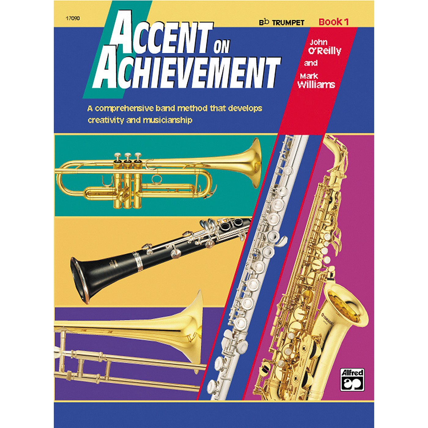 Alfred Accent on Achievement Bb Trumpet Book 1 with CD thumbnail