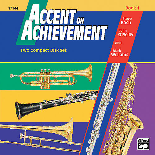 Alfred Accent on Achievement Book 1 2 CD Set thumbnail