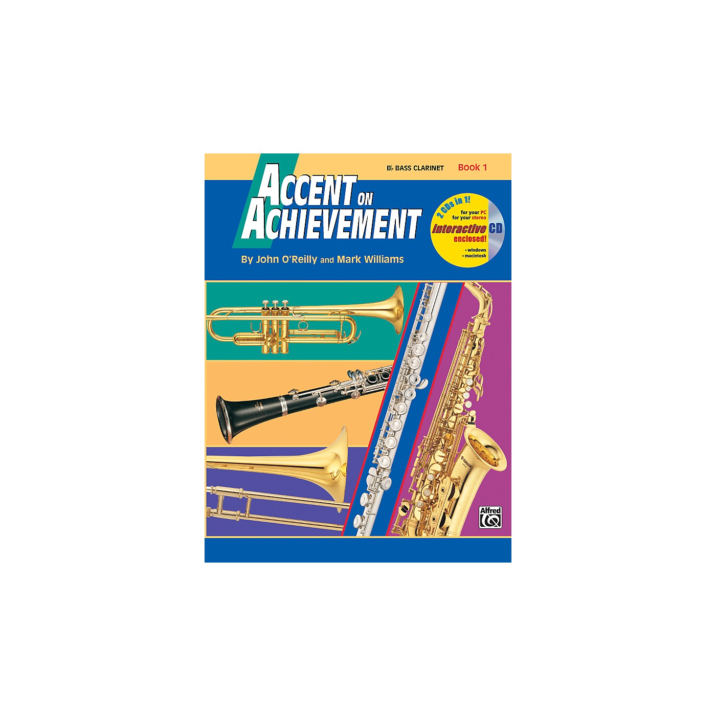 Alfred Accent on Achievement Book 1 B-Flat Bass Clarinet Book & CD thumbnail