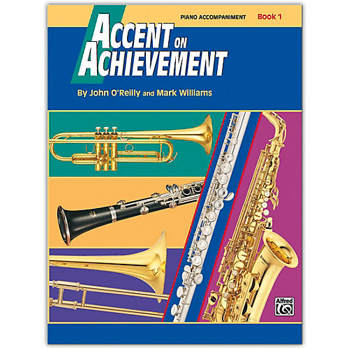 Alfred Accent on Achievement Book 1 Piano Acc. with CD thumbnail