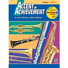 Alfred Accent on Achievement Book 1 Trombone Book & CD