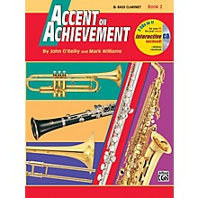 Alfred Accent on Achievement Book 2 B-Flat Bass Clarinet Book & CD