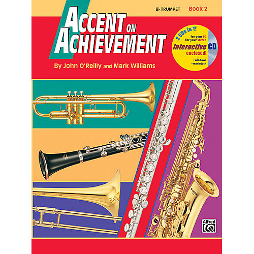 Alfred Accent on Achievement Book 2 B-Flat Trumpet Book & CD thumbnail