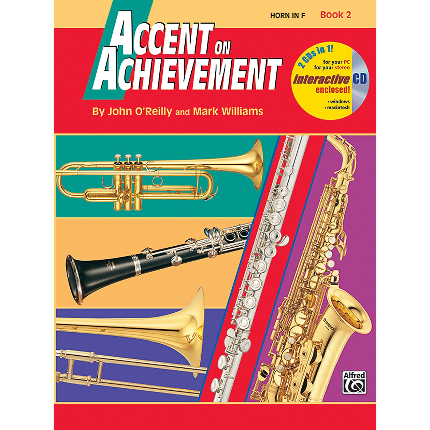 Alfred Accent on Achievement Book 2 Horn in F Book & CD thumbnail