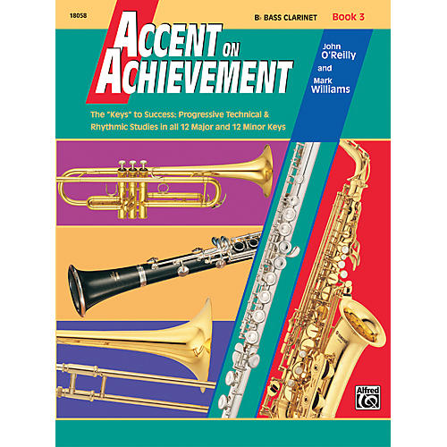 Alfred Accent on Achievement Book 3 B-Flat Bass Clarinet thumbnail