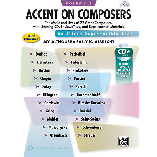 Alfred Accent on Composers Volume 2 Book & CD thumbnail