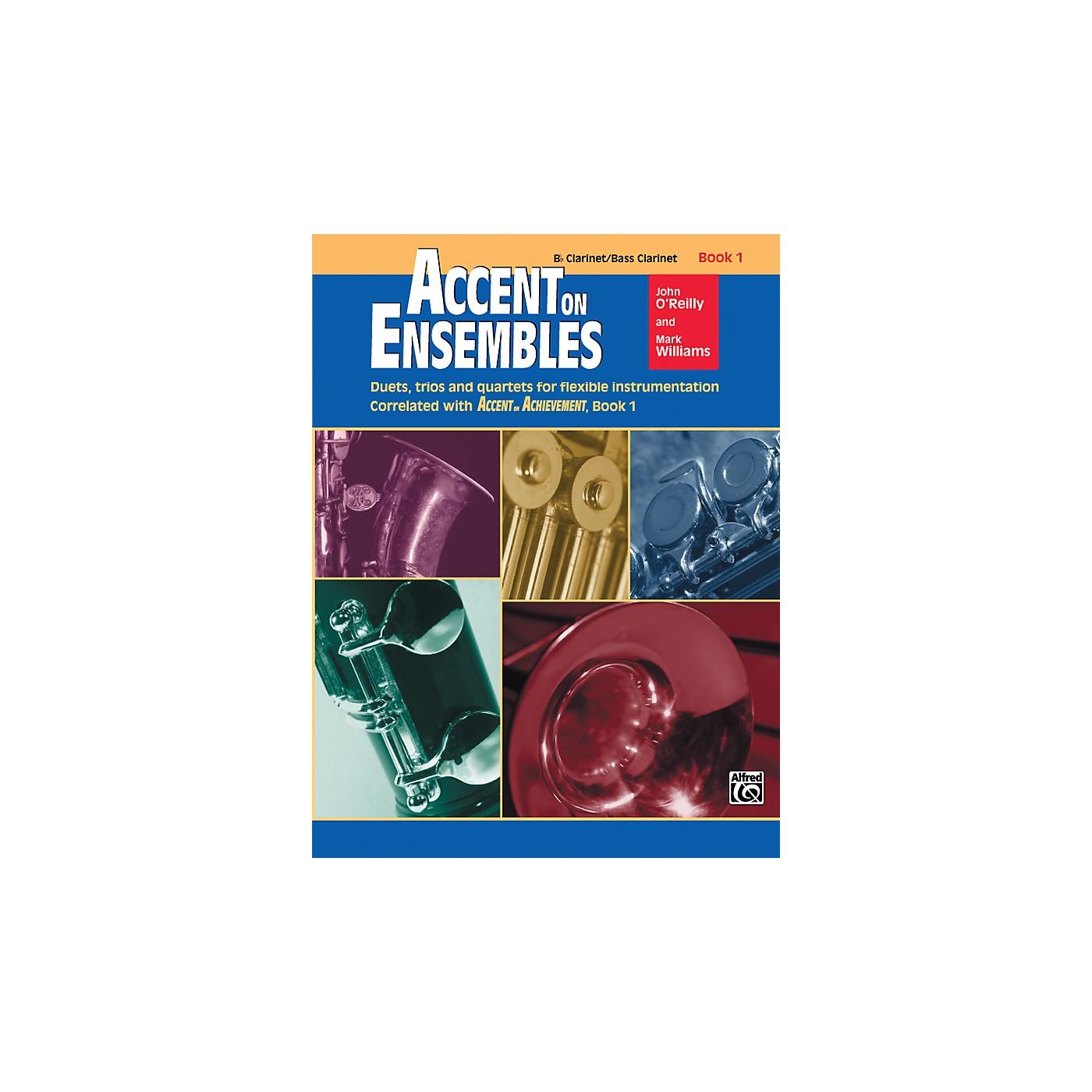 Alfred Accent on Ensembles Book 1 B-Flat Clarinet Bass Clarinet thumbnail