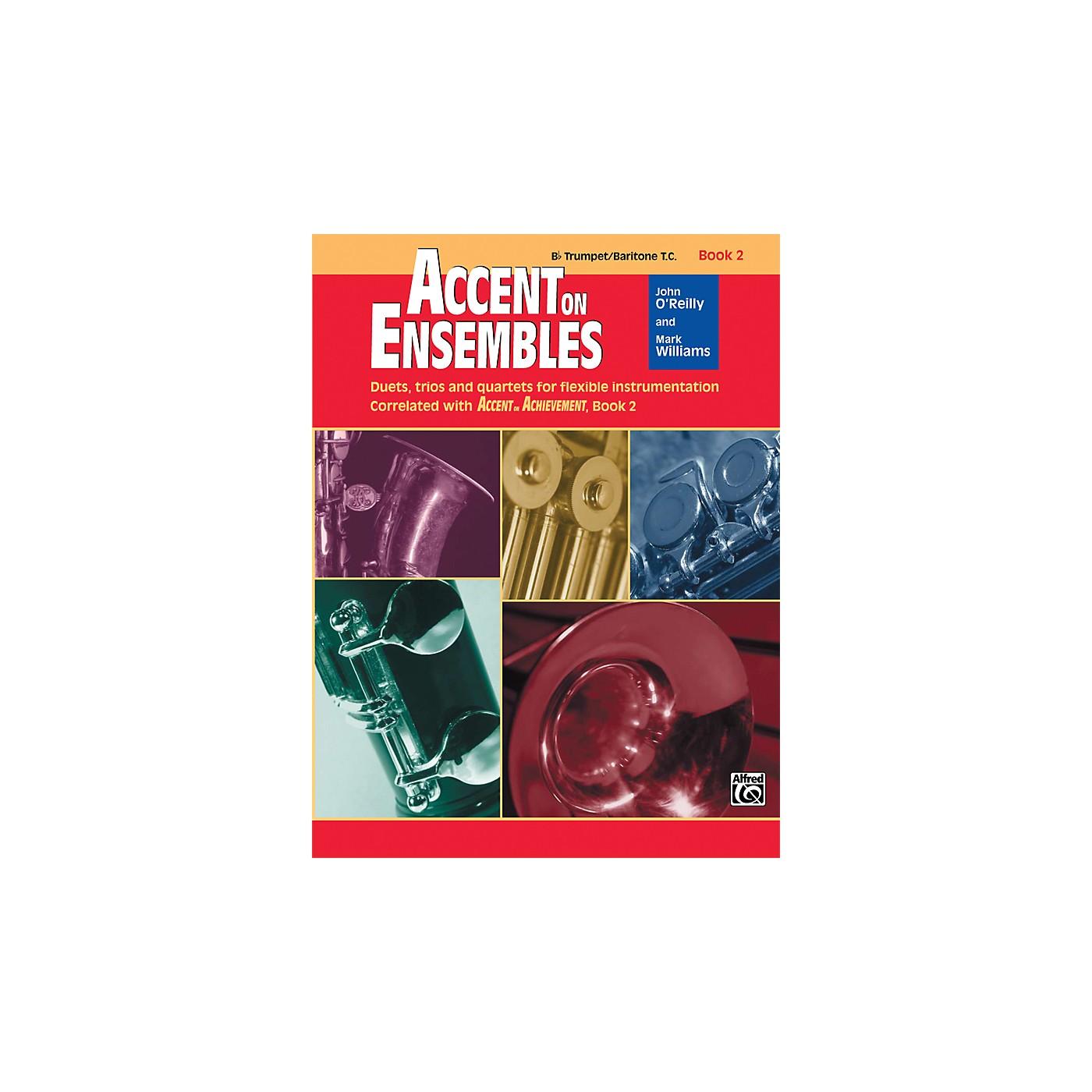 Alfred Accent on Ensembles Book 2 B-Flat Trumpet/Baritone T.C. thumbnail