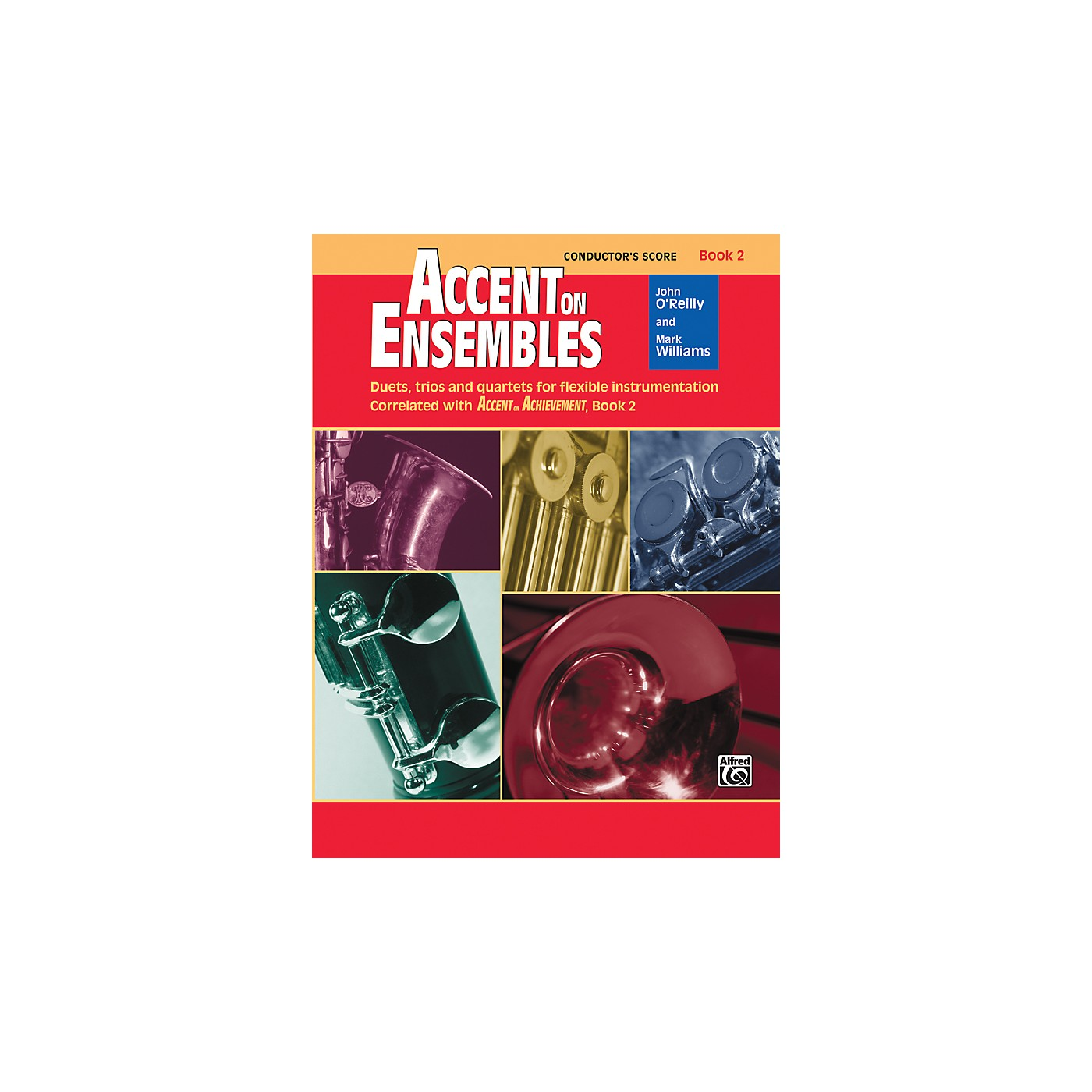 Alfred Accent on Ensembles Book 2 Conductor's Score thumbnail