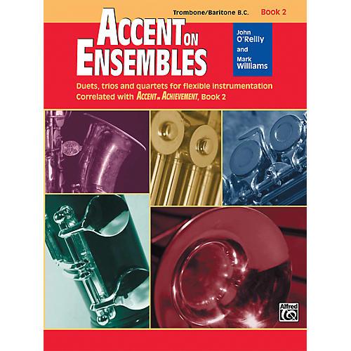 Alfred Accent on Ensembles Book 2 Trombone/Baritone B.C. thumbnail