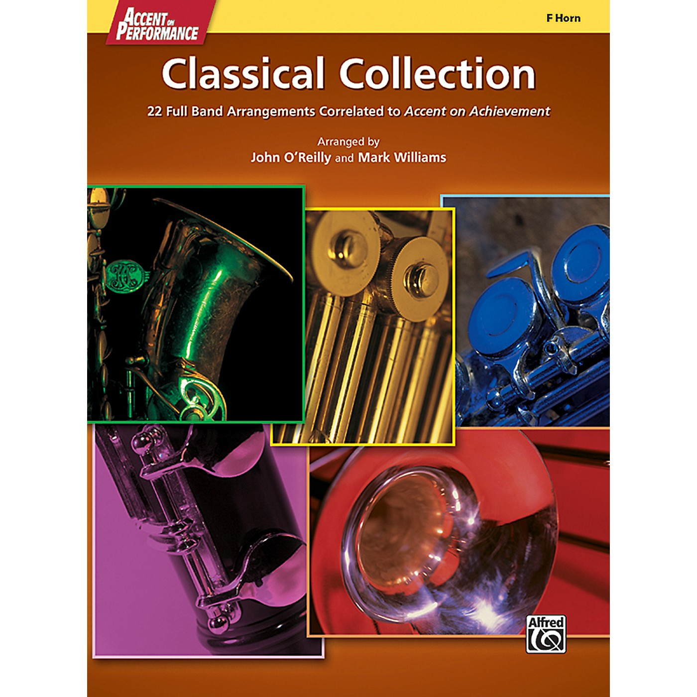 Alfred Accent on Performance Classical Collection F Horn Book thumbnail