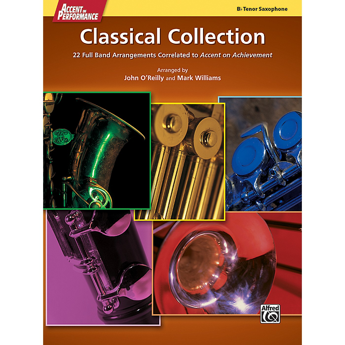 Alfred Accent on Performance Classical Collection Tenor Saxophone Book thumbnail