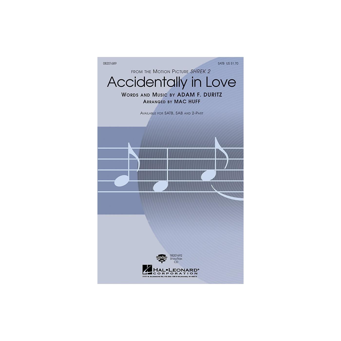 Hal Leonard Accidentally in Love ShowTrax CD Arranged by Mac Huff thumbnail