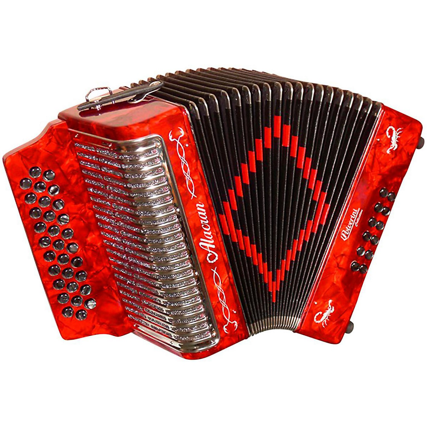 Alacran Accordion AL3112 Red with Case thumbnail