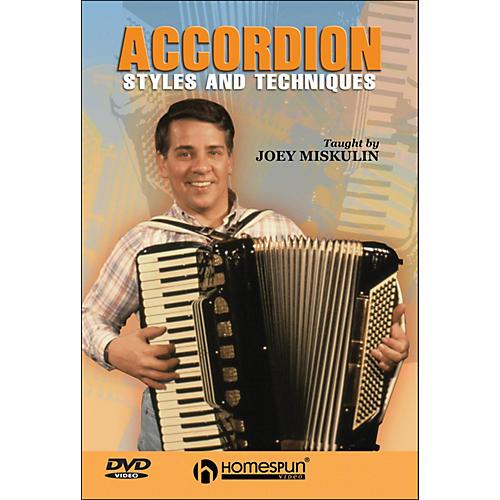 Homespun Accordion Styles And Techniques (DVD)-thumbnail