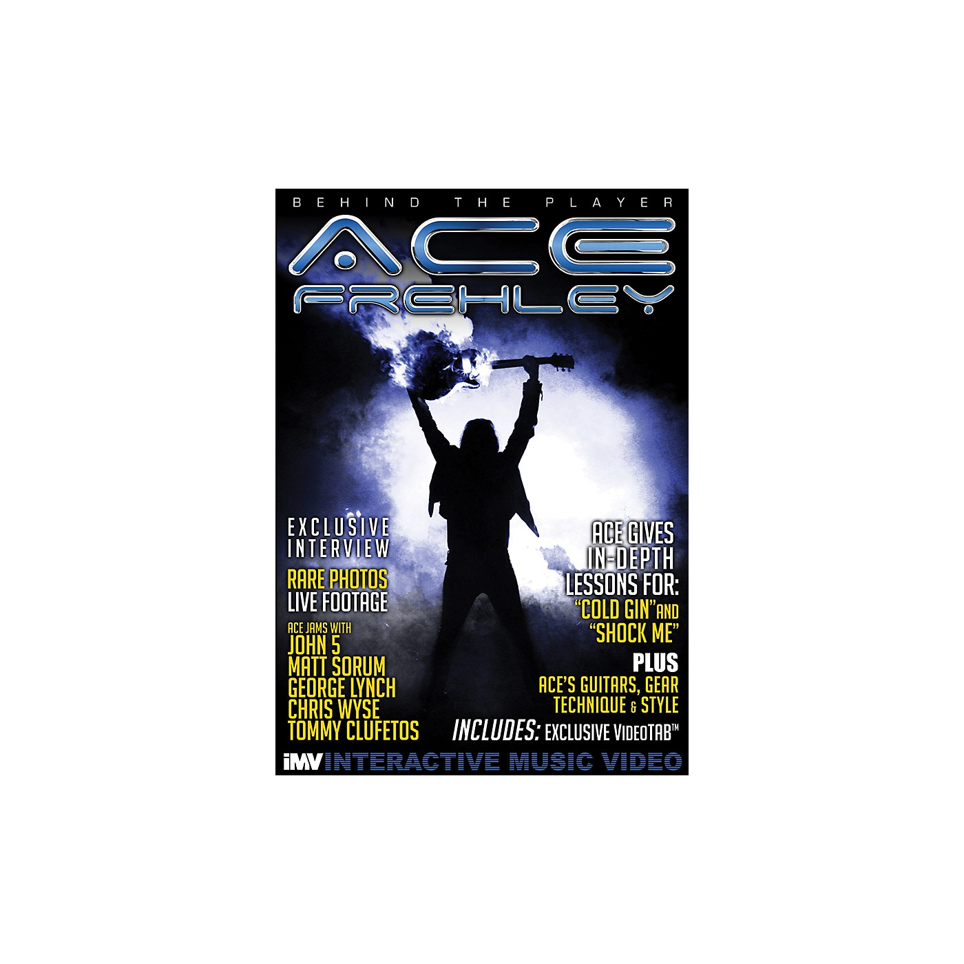 IMV Ace Frehley Behind the Player DVD thumbnail