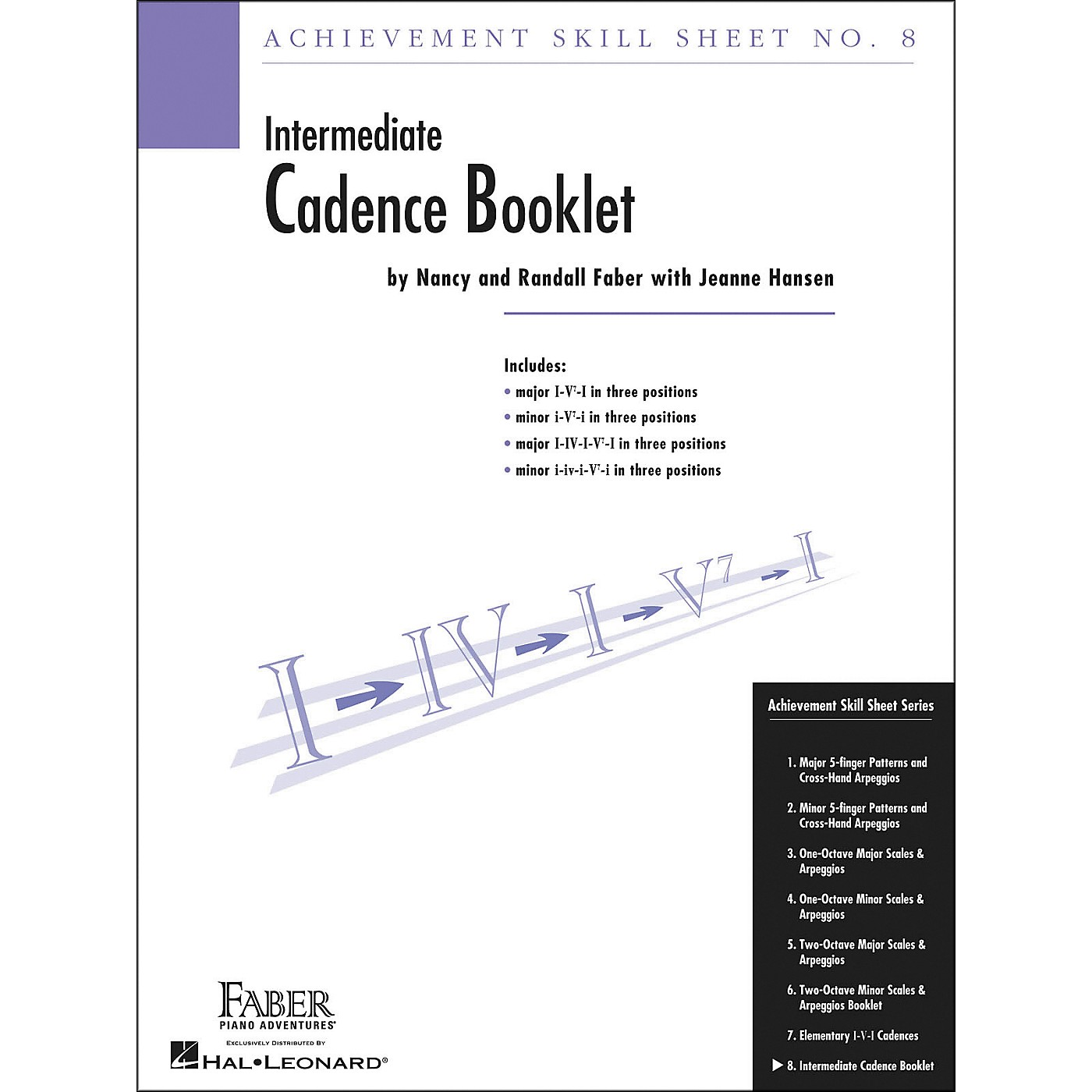 Faber Piano Adventures Achievement Skill Sheet No.8: Cadence Booklet - Faber Piano thumbnail