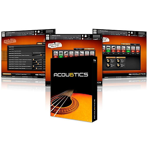 Vir2 Acou6tics (Kontakt Player 5/Plug-in) Boxed thumbnail