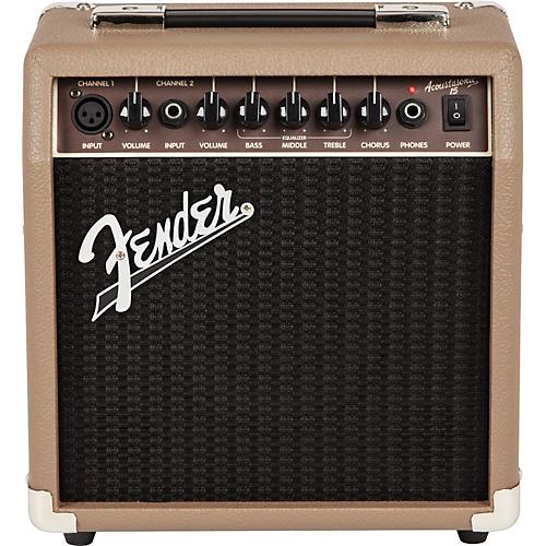 Fender Acoustasonic 15 Acoustic Combo Amp thumbnail