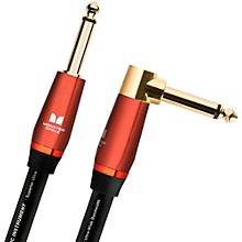 "Monster Cable Acoustic 1/4"" Angled to Straight Instrument Cable"