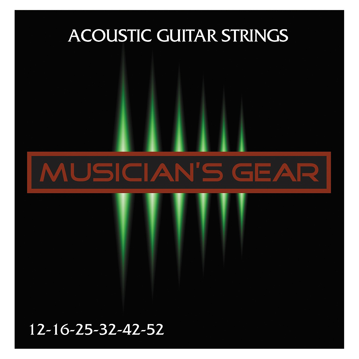 Musician's Gear Acoustic 12 80/20 Bronze Acoustic Guitar Strings thumbnail