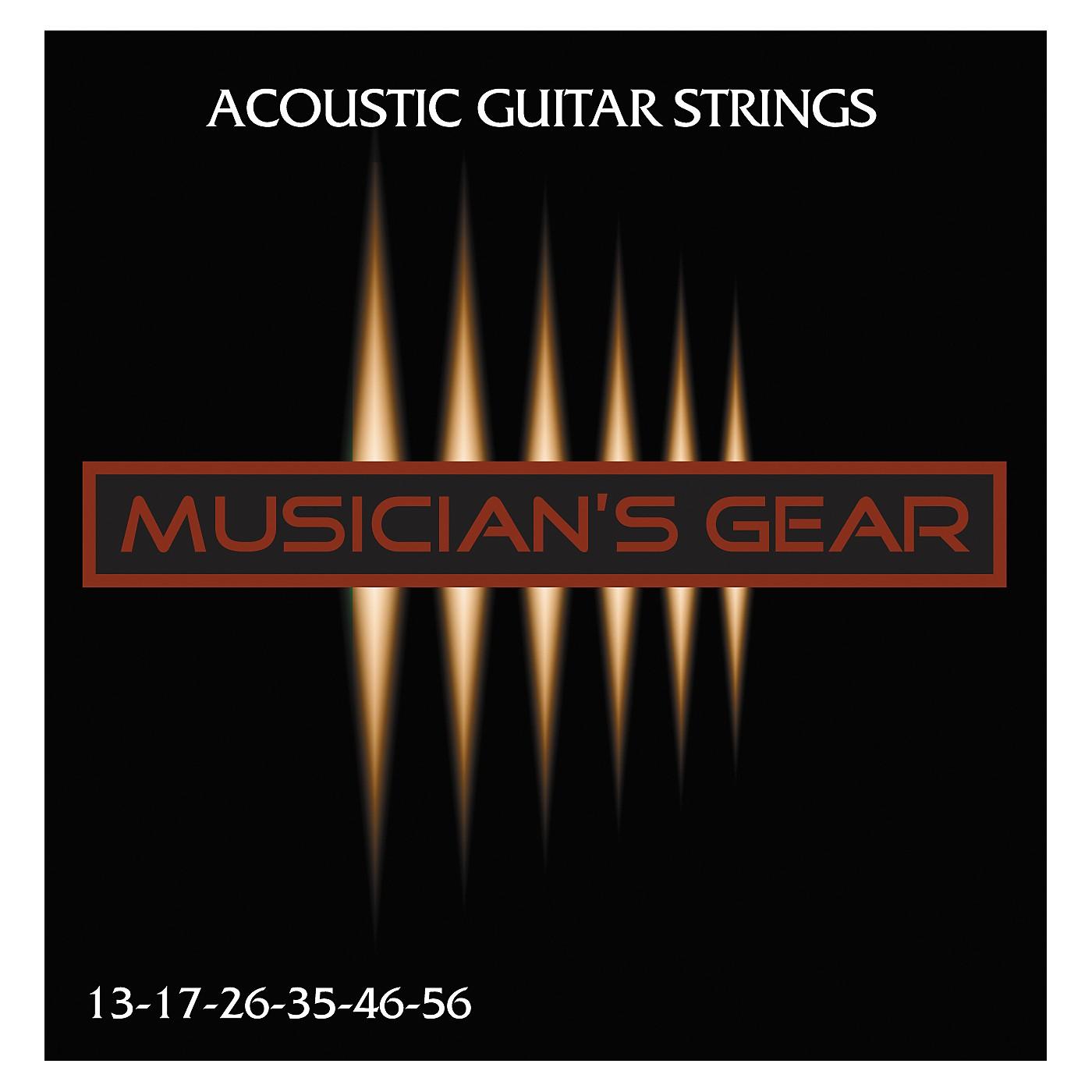 Musician's Gear Acoustic 13 80/20 Bronze Guitar Strings thumbnail
