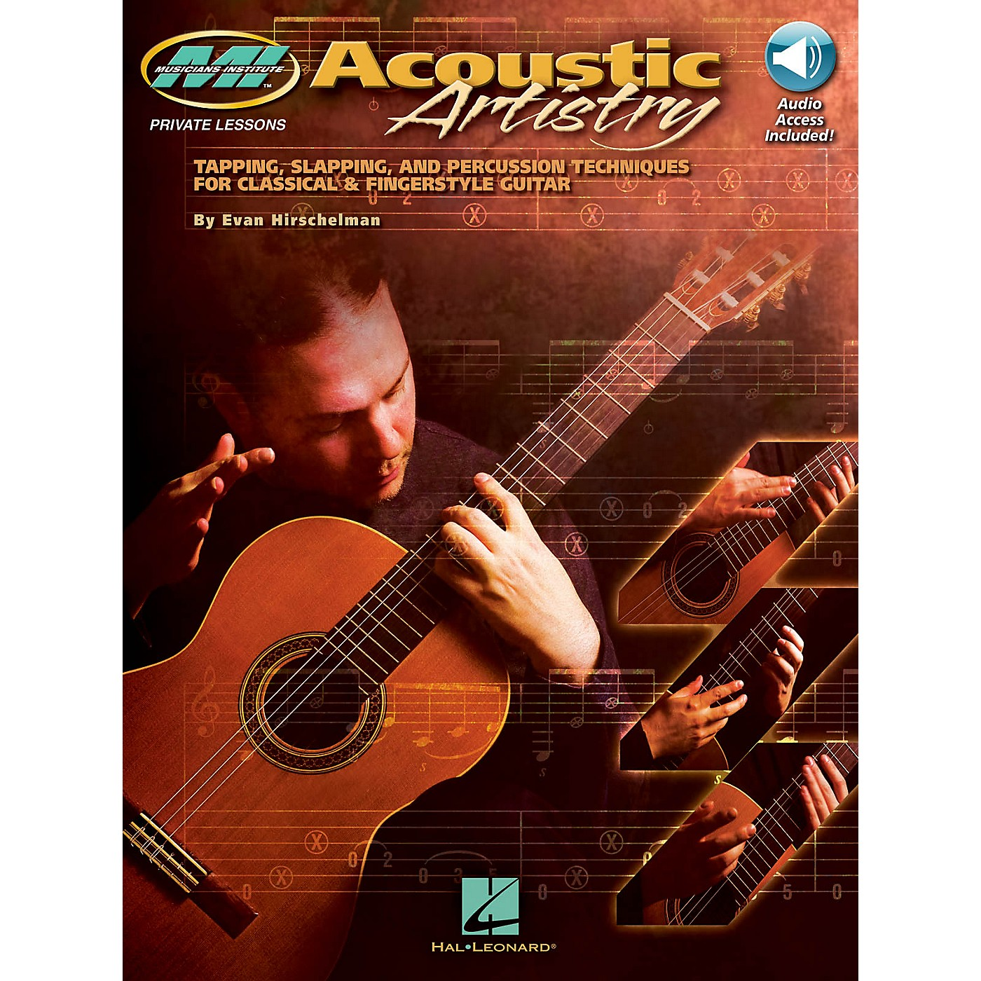 Musicians Institute Acoustic Artistry Musicians Institute Press Series Softcover Audio Online Written by Evan Hirschelman thumbnail