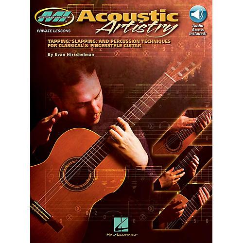 Musicians Institute Acoustic Artistry Musicians Institute Press Series Softcover Audio Online Written by Evan Hirschelman thumbnail