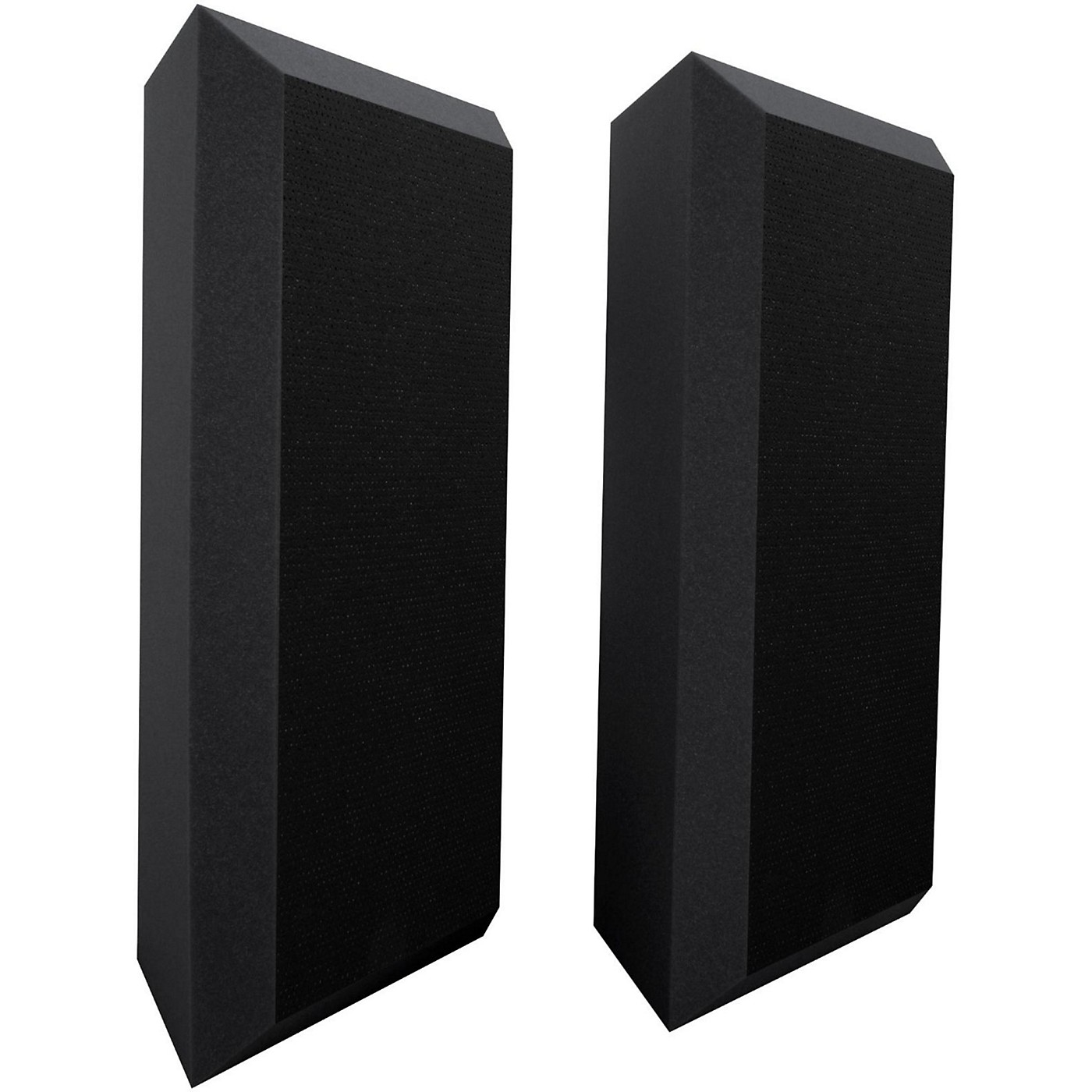 Ultimate Acoustics Acoustic Bass Trap with Vinyl Coating - Bevel (2 Pack) thumbnail