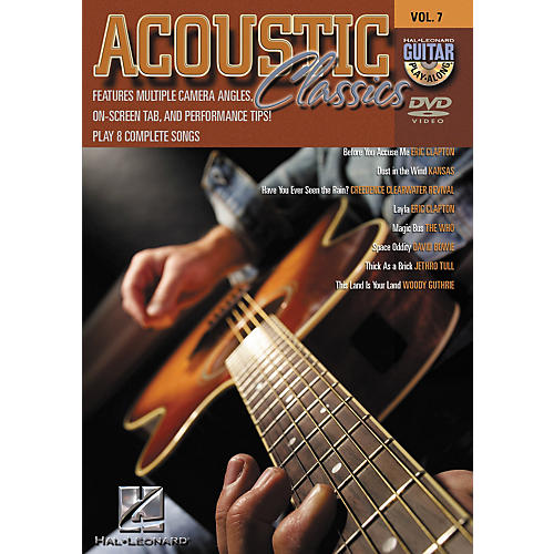Hal Leonard Acoustic Classics - Guitar Play-Along Volume 7 (DVD) thumbnail