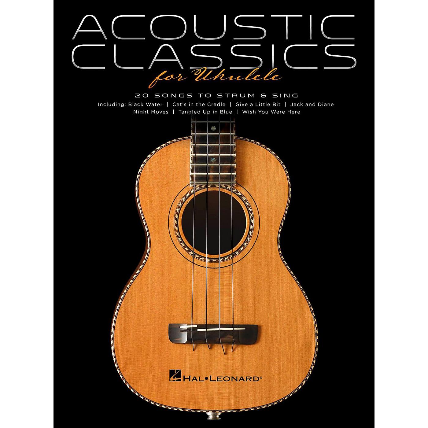 Hal Leonard Acoustic Classics For Ukulele thumbnail