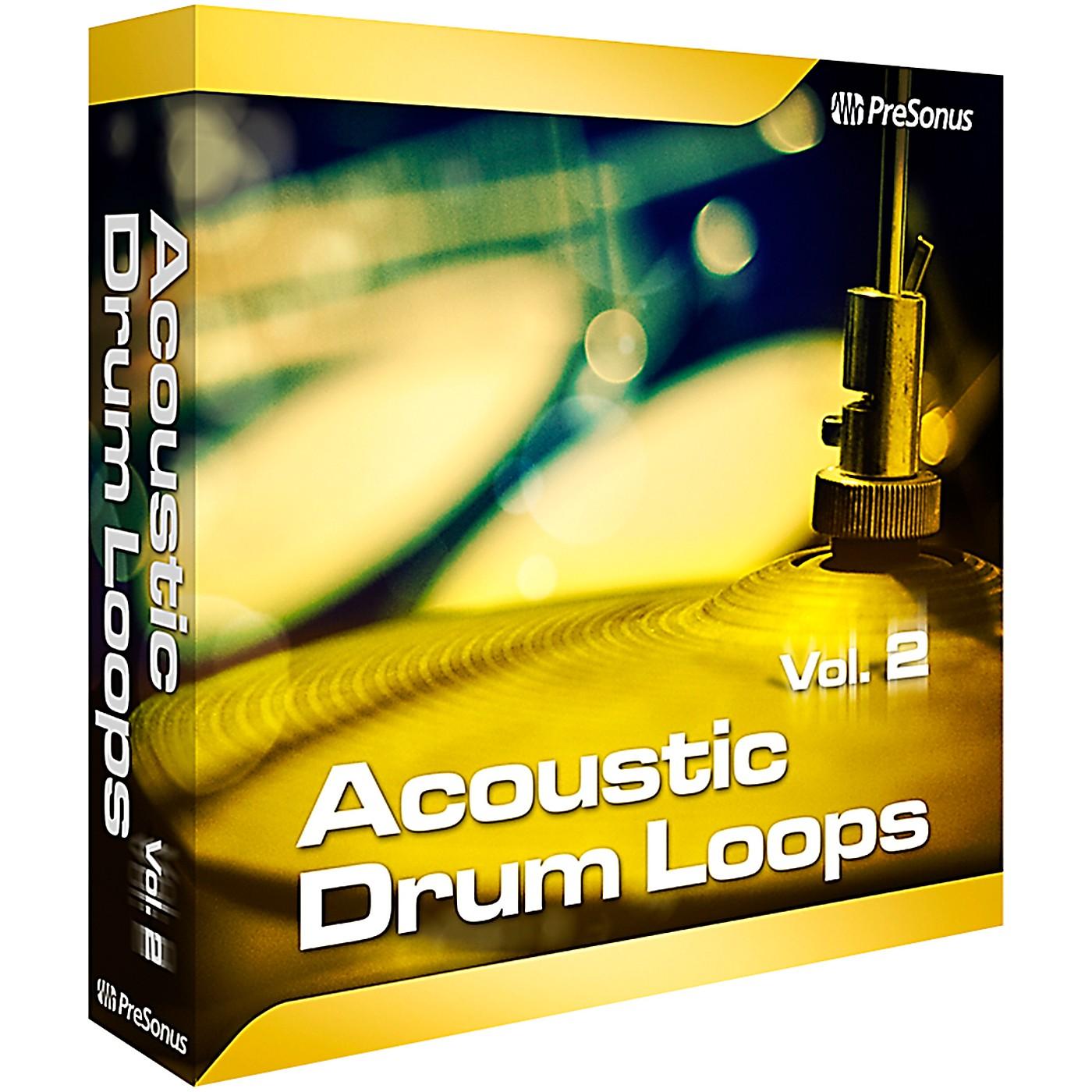 Presonus Acoustic Drum Loops Vol. 2 - Stereo Software Download thumbnail