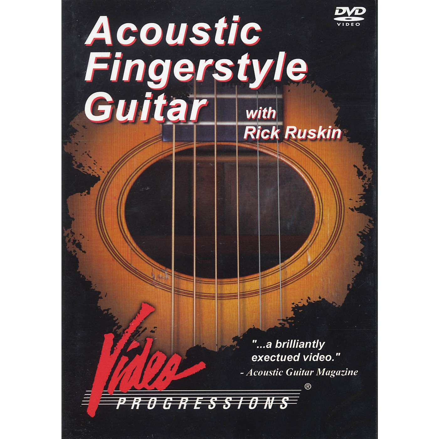 Hudson Music Acoustic Fingerstyle Guitar with Rick Ruskin DVD thumbnail