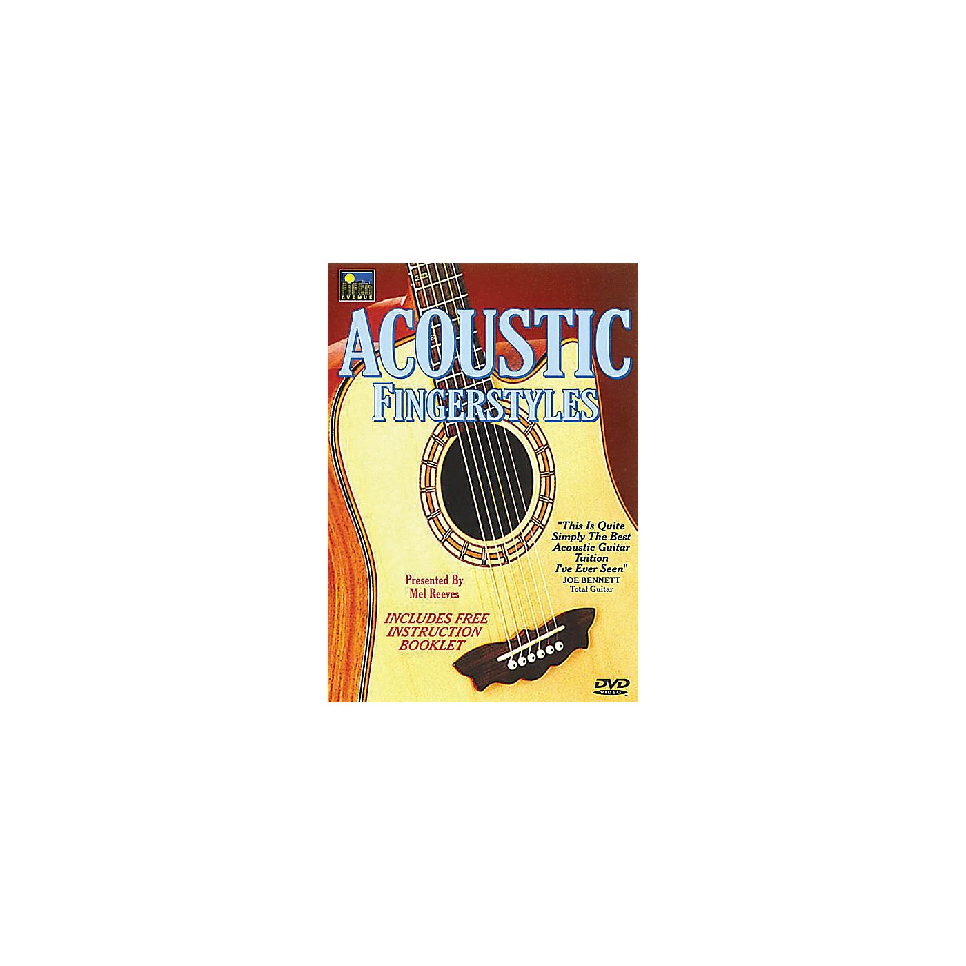 Music Sales Acoustic Fingerstyles Music Sales America Series DVD Written by Mel Reeves thumbnail