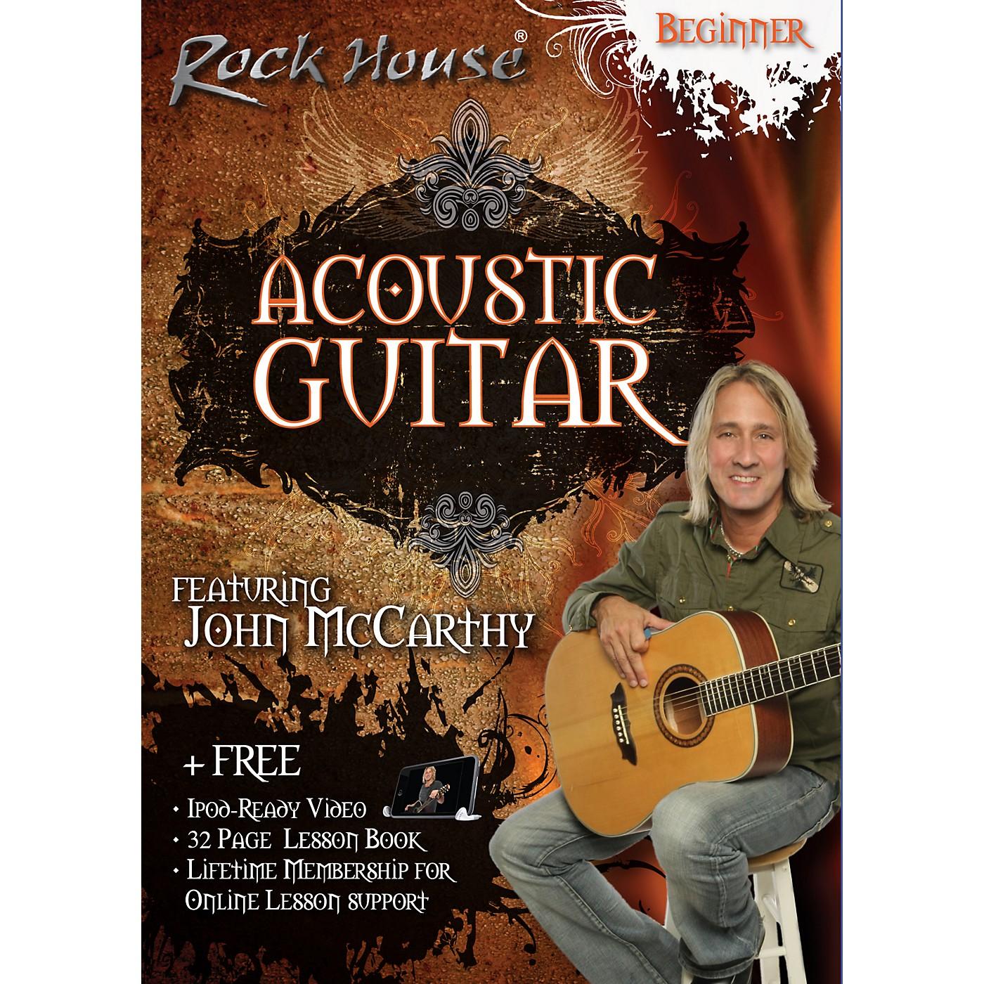 Rock House Acoustic Guitar Beginner DVD thumbnail