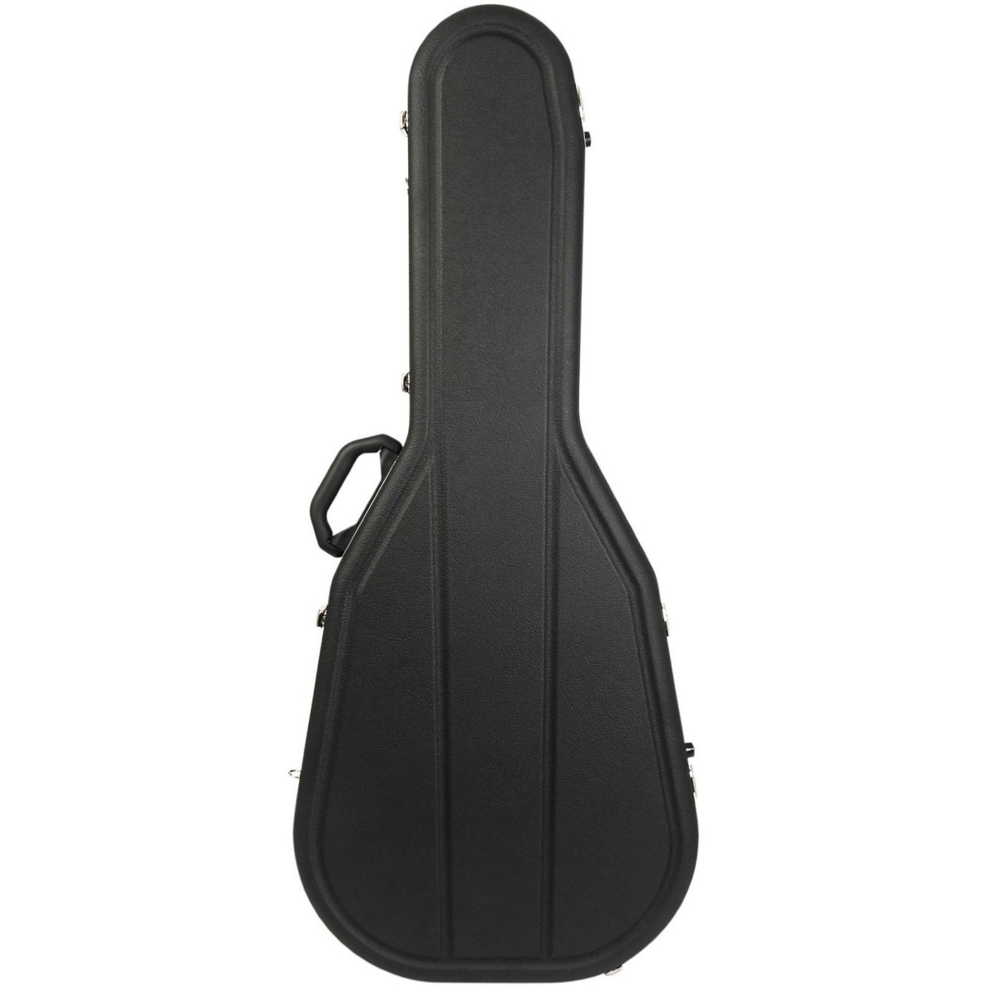 Hiscox Cases Acoustic Guitar Case/Dreadnght Black Shell/Silver Int-Pro II thumbnail