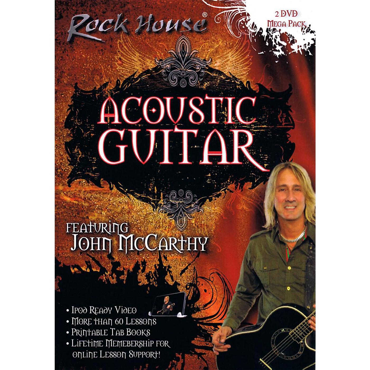 Rock House Acoustic Guitar DVD Mega Pack 2-DVD Set thumbnail