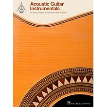 Hal Leonard Acoustic Guitar Instrumentals - 25 Performances Transcribed Note-For-Note