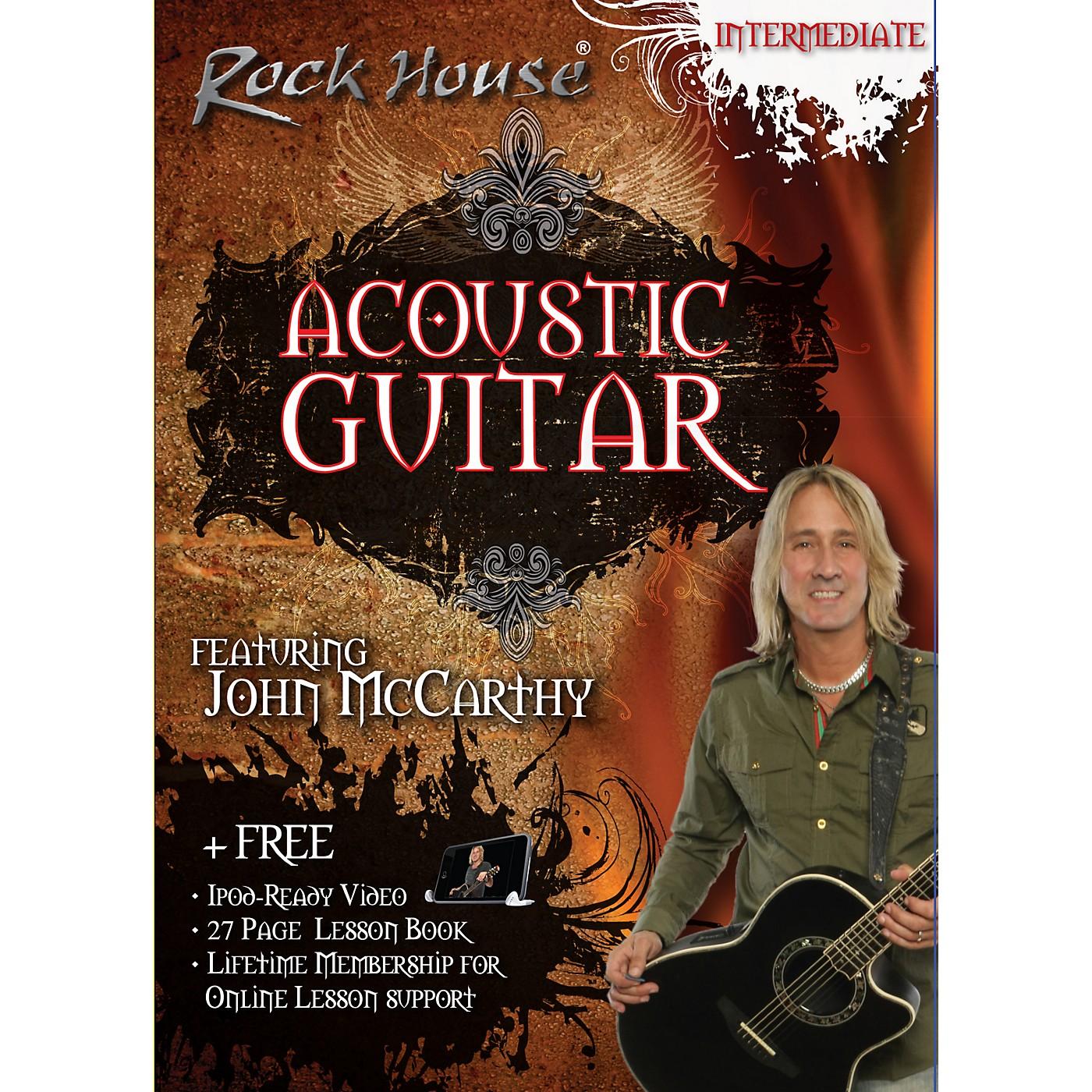 Hal Leonard Acoustic Guitar Intermediate DVD thumbnail