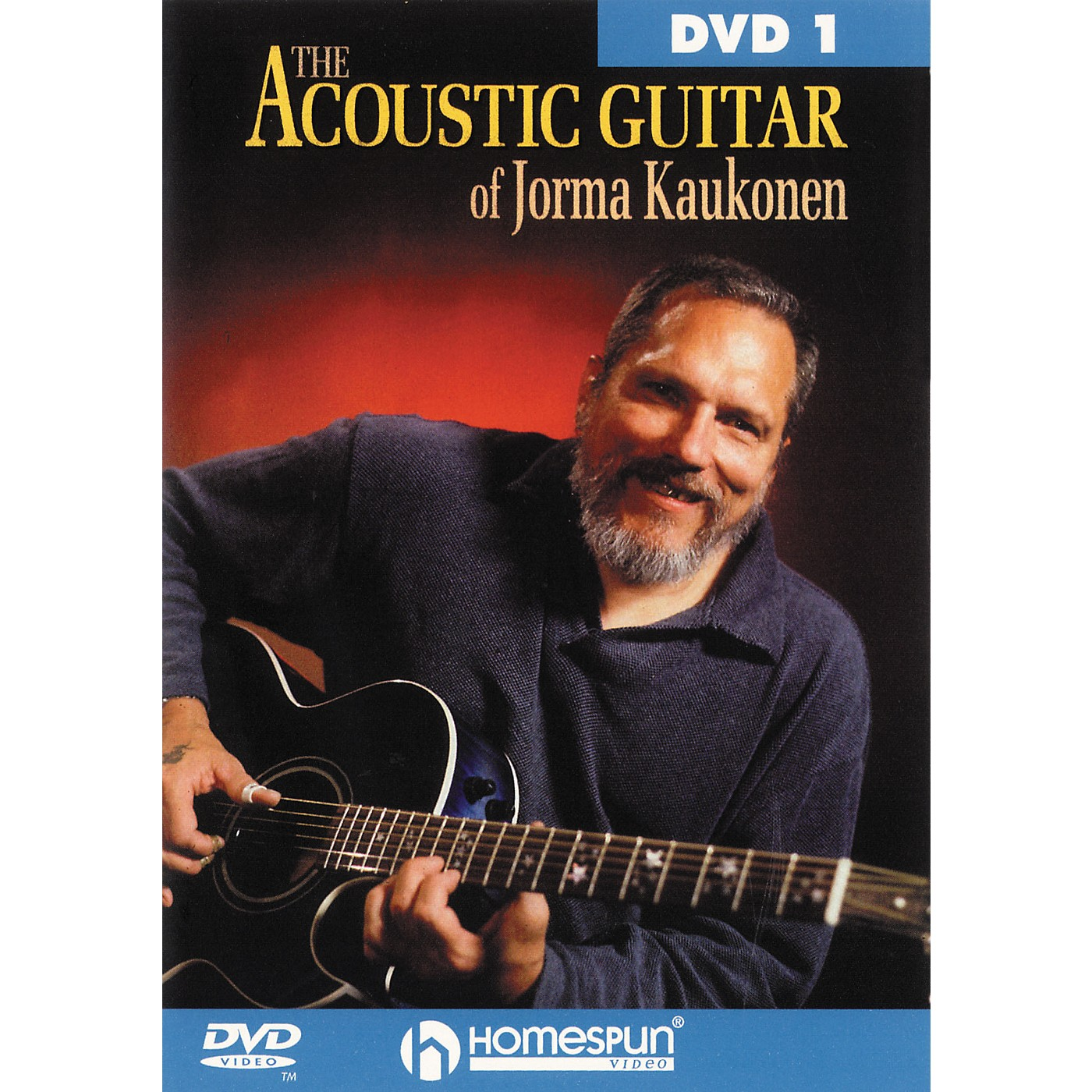 Homespun Acoustic Guitar Jorma Kaukonen 1 (DVD) thumbnail