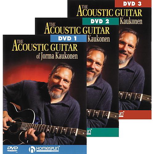 Homespun Acoustic Guitar Jorma Kaukonen 3 DVD Set thumbnail