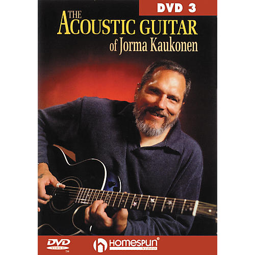 Homespun Acoustic Guitar Jorma Kaukonen 3 (DVD) thumbnail