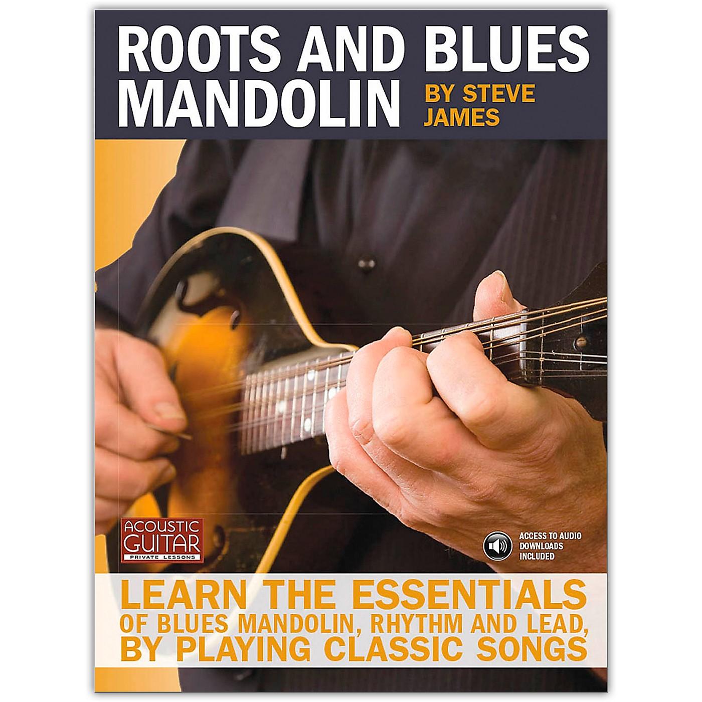 Hal Leonard Acoustic Guitar Series Roots And Blues Mandolin (Book/Online Audio) thumbnail