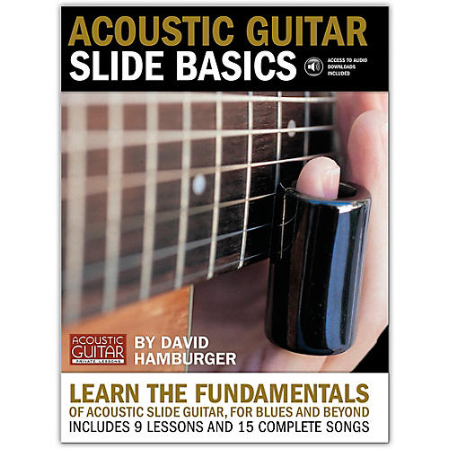 String Letter Publishing Acoustic Guitar Slide Basics (Book/Online Audio) thumbnail