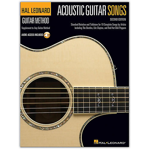 Hal Leonard Acoustic Guitar Songs - 2nd Edition Guitar Method Series Softcover Audio Online Performed by Various thumbnail