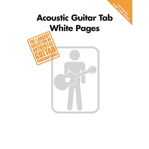 Hal Leonard Acoustic Guitar Tab White Pages Songbook-thumbnail