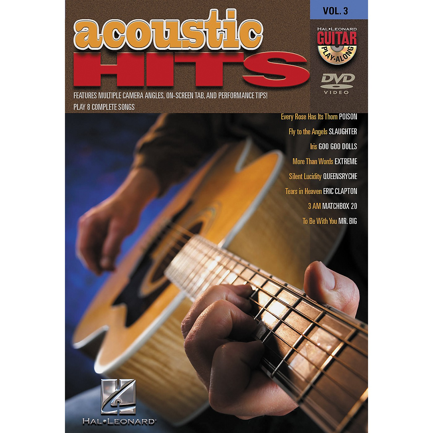 Hal Leonard Acoustic Hits Guitar Play-Along DVD Volume 3 thumbnail