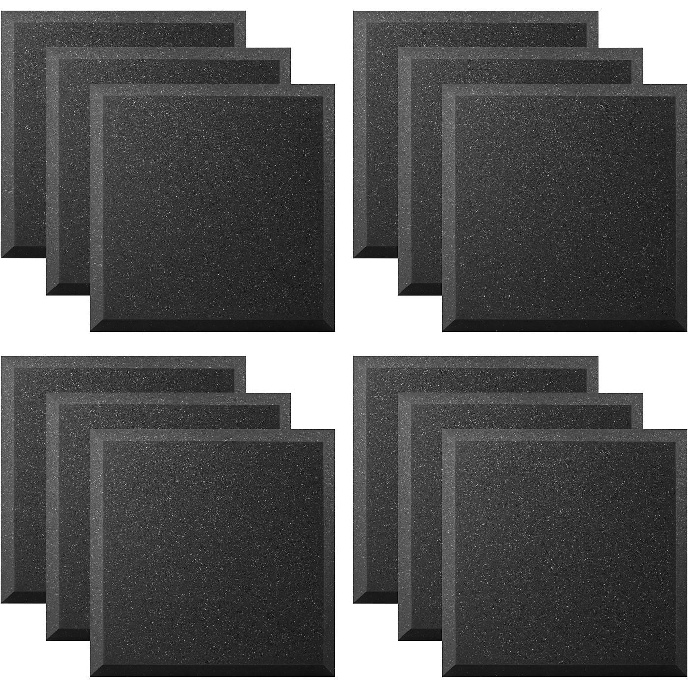 Ultimate Acoustics Acoustic Panel - 24x24x2 Bevel (12 Pack) thumbnail